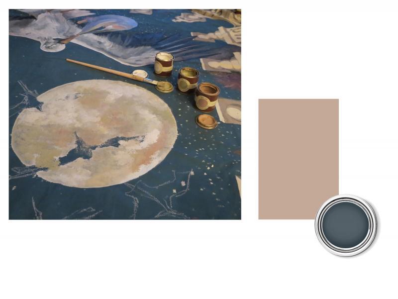 Cielo Dipinto Sul Soffitto : Ed ecco che compaiono cicogne al chiaro ...