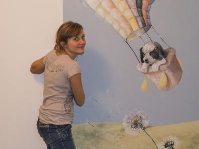 Dipinto per la camera di una bimba